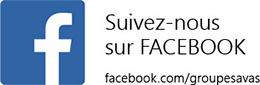 Suivez le GROUPE SAVAS sur FACEBOOK