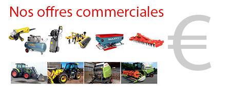 Nos offres commerciales